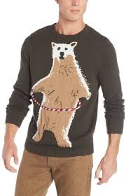 alex stevens polar bear hoopla ugly christmas sweater where to