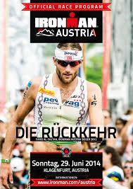 ironman austria racebook 2014 by ironman europe issuu