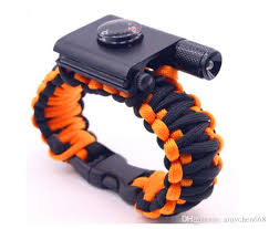 paracord bracelet youtube images Free dhl outdoor camping hiking survival bracelet self rescue jpg