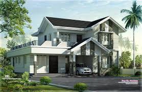 Home Design Of Kerala by 1975 Sq Feet Nice Home Exterior Design Kerala Home Design And