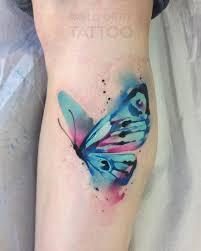 watercolor butterfly butterfly tattoos
