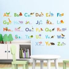 Alphabet Wall Decals For Nursery Alphabet Wall Stickers Https Www Decowall Da 1701