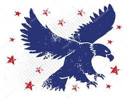 Eagle American Flag American Eagle Flag Stock Vectors Royalty Free American Eagle