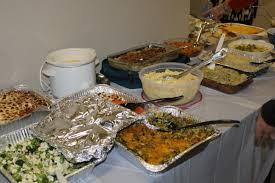 enjoying a thanksgiving potluck with fsn