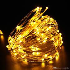 copper led string light 10m 100 led indoor outdoor waterproof
