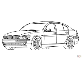 bmw 7 series coloring page free printable coloring pages