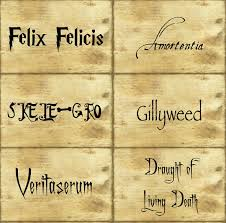 Harry Potter Potion Labels Templates harry potter labels demisiriusly