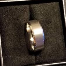 52nd wedding band platinum milgrain wedding band 4mm wide mens or womens