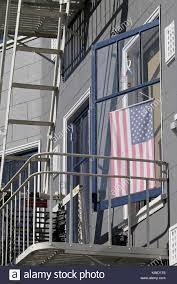 Iron On American Flag Flag On Balcony Stock Photos U0026 Flag On Balcony Stock Images Alamy