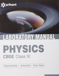 cbse laboratory manual physics class 11th experiments activities