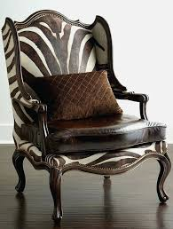 Animal Print Accent Chair Modern Animal Print Accent Chairs Allmodern Throughout Decorations