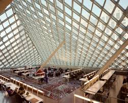top floor of seattle public library central branch flickr