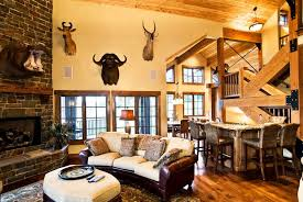Rustic Leather Armchair 50 Beautiful Living Rooms With Ottoman Coffee Tables