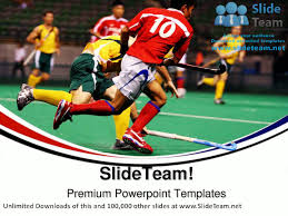hockey players sports powerpoint templates themes and backgrounds