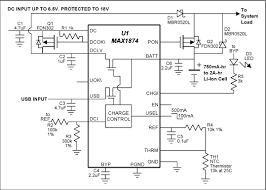 charging batteries using usb power reference schematic maxim