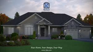 Bungalow Garage Plans House Plans Canada Raised Bungalow Homes Zone