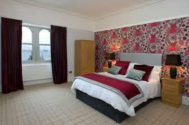 Grey And Burgundy Bedroom Alt Na Craig House Oban Must Visit Scotland