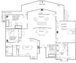 Floor Plans For Real Estate Agents One Story House Plans With Open Concept Plan 1275 Floor Plan