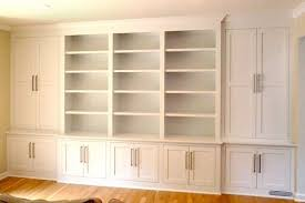 built in storage cabinets impressive built in storage cabinets with doors build a recessed