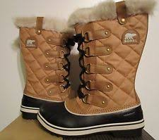 Sorel Tivoli Rugged Canvas Boots Sorel Canvas Snow Winter Boots For Women Ebay