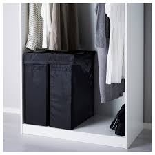 3 Section Laundry Hamper by Skubb Laundry Bag With Stand Black Ikea