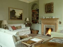 awesome living room idea with fireplace with traditional design