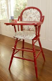 Vintage Cosco High Chair Vintage Wooden High Chair Cover Home Chair Decoration