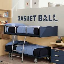 chambre basketball sticker déco basket texte http artandstick be custom