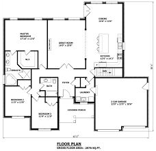 narrow house plans with garage floor plan elevation bungalow house homes zone