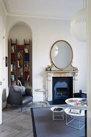 see inside this refurbished double fronted period terraced house across the hall the drawing room was also given a makeover while the owners retained some of their pictures and other pieces of art from this room
