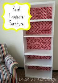 how to paint laminate furniture painting laminate furniture