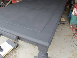 Painted Dining Table by Chalk Paint Dining Table Top Table Top Refinishing Ideas The Top