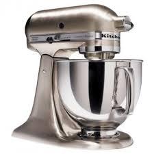 Kitchenaid Blender by Kitchen Aid 5 Quart Mixer Custom Metallic Brushed Nickel