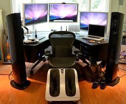 Pro Gaming Desk The Mac Pro Setup Of A Ceo Tech Pinterest Macs Tech And