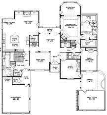 5 bedroom 4 bathroom house plans floor plan office homplans and exles for three with apartment