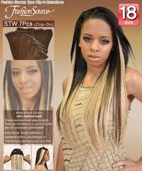 18 inch hair extensions fashion source stw18 clip in hair extension