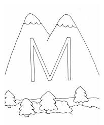 ornamental letter m colouring page ornamental letter m colouring