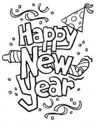 happy new year preschool coloring pages print out happy new year clipart 2014 coloring in sheets printable