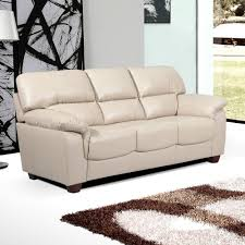 Cheap Leather Sofa Beds Uk by Essington High Back Sofa Collection In Ivory Cream Leather
