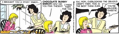 chocolate bunny ears chocolate bunny ears comic tags sally forth