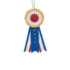 show ribbon ornament decor big s