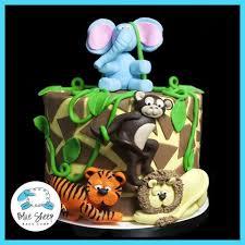 baby shower cake baby cake blue sheep bake shop
