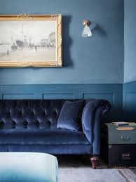colorful interiors blue period an english manor house channels picasso remodelista