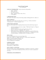 exles of elementary resumes resume sle exles for teachers free templates educators