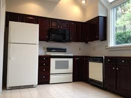 painting kitchen cabinets dark brown bleached u2014 decor trends