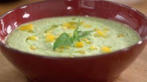 recette cuisine tf1 mariotte soupe de courgettes crues au petit billy chèvre frais petits