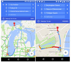 maps android maps for android gets destinations feature