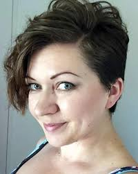 overweight with pixie cut 20 bold asymmetrical pixie cuts