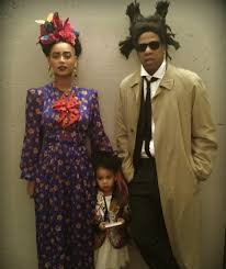 Family Of Three Halloween Costumes by Beyonce And Jay Z Family Pictures Popsugar Celebrity