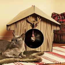Cool Cat Scratchers Cardboard Cat House Cat Scratcher Play House Could Be More